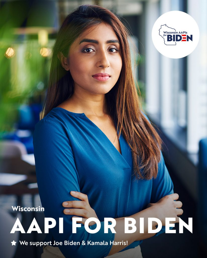 Joe Biden - Presidential Campaign - Asian American & Pacific Islanders (AAPIs) for Wisconsin